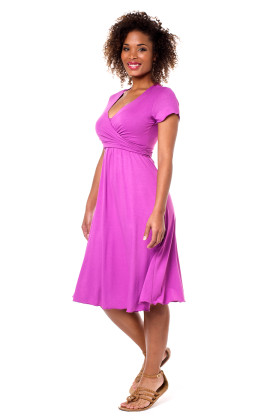 maternity & breastfeeding Annabella dress short sleeves