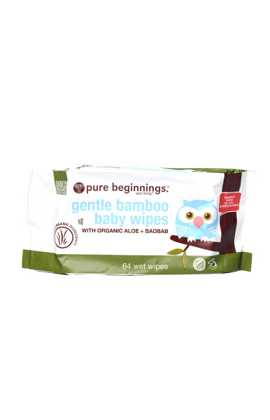 bamboo baby wipes pack of 64
