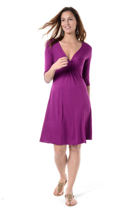 3/4 sleeve Gabriella dress