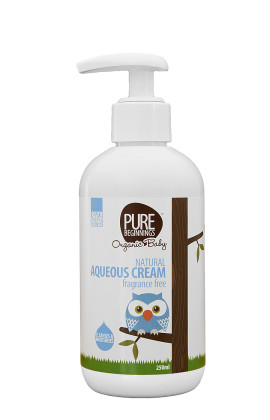 Pure Beginning Natural Aqueous Cream 250ml