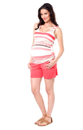 roll top soft shorts