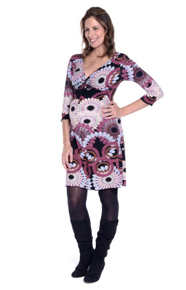 Samira maternity twist dress