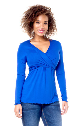 annabella maternity & breastfeeding top long sleeve