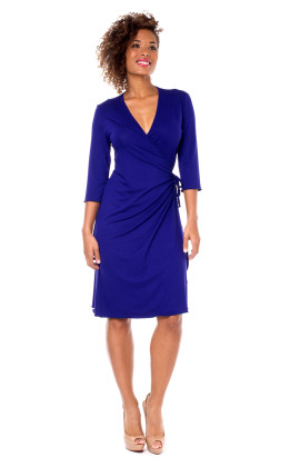 Angelina wrap dress