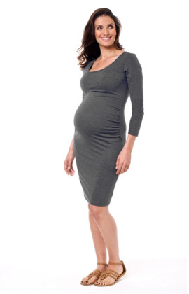 Taya Maternity Dress 3/4 Sleeve