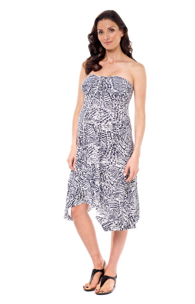 Zara maternity hanky dress