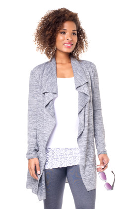 Waterfall Cardi Grey