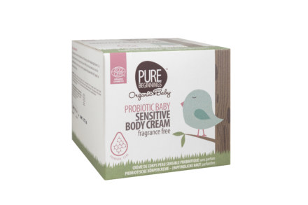 Pure Beginnings PROBIOTIC BABY Sensitive Body Cream, fragrance free (250ml)