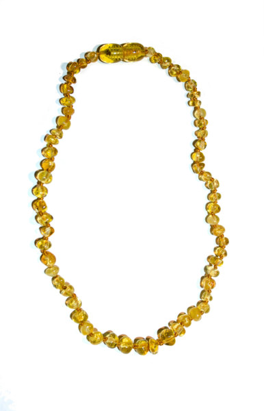 Baltic Amber Teething Necklace Honey Annabella Maternity