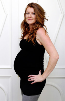 Yummy Maternity Bamboo Ruche Top/Dress