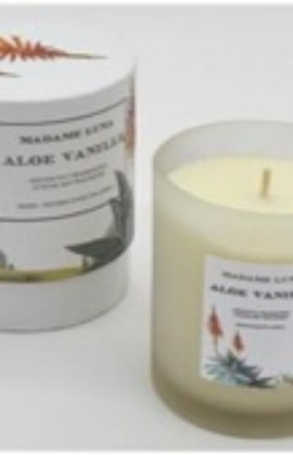 Madame Luna Aloe Vanille Scented Candle